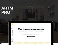 ARTM.PRO Redesign Concept