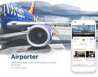 Airporter App Design