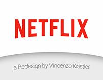 Netflix Redesign iOS
