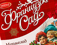 Design of the concept New Year's packaging