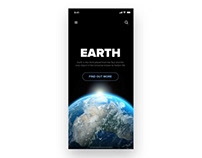 Space App Transitions