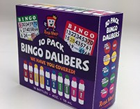 10 Pack Bingo Daubers Packaging