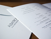 Albatros Restaurant Menu - 5* Hotel