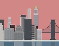 Brooklyn Heights – Vectorial Illustration