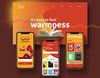 Book Warm - Brand Identity