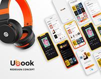 Ubook redesign concept