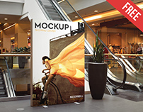 Shopping Center – 3 Free PSD Mockups