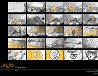 Jack O' Lantern - Storyboard | Character Design