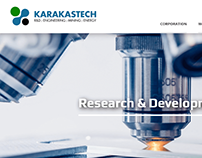 Karakastech Research and Development Company Website