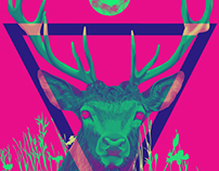 Neon Stag