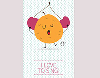 I love to sing!