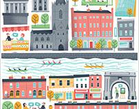 Dublin City. Airbnb.