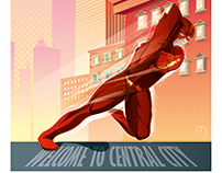Flash TV Show Poster Art