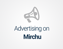 Advertising on Mirchu