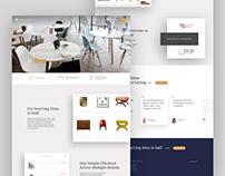 Designer Inc - Furniture Marketplace Website