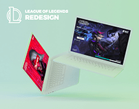 League of Legends | Redesign | Interface UX/UI