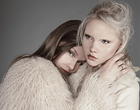 """Kristina & Vika"" for Atlas Magazine"
