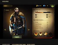 ARPG Game ui
