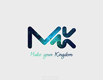 Make Your Kingdom | Personal Logo Rebranding