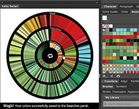 Adobe Add-on for Illustrator: Color Sorter!