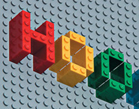 LEGO - Photography for HOOGTIJ poster