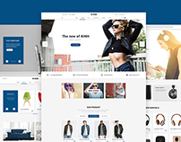 Kinh – Material E-Commerce Template