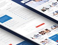 Site para empresa de auditoria e consultoria de gestão