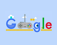 Google Doodle // Day of the videogame