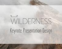Wilderness Keynote Presentation Design