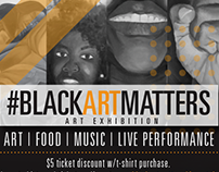 #Blackartmatters Art Exhibition (Freelance)