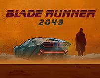 Blade Runner 2049 - Graphic Poster