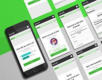 Enroll App Redesign   Design Intern Project with ZURB