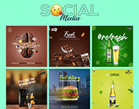 Social Media post - Advertisement banner Design