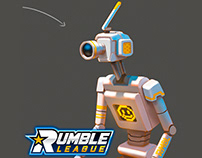 Rumble League - vis dev