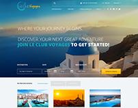 Le Club Voyages Website