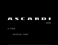 Ascardi Sans - Free Display Font