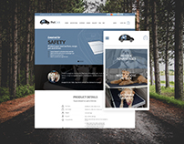 Petdek Travel Accessory Branding and Website