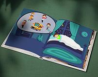 Story Book Illustration
