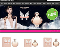 Paco Rabanne Olympea Campaign