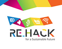 Re.Hack Brand Identity Design