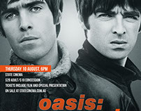 Oasis: Supersonic, Poster