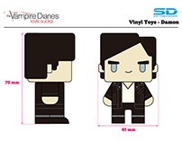 Vampire Diaries - Vinyl Toys