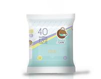 Diseño de identidad y packaging para Baby4Care