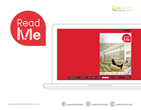 Read me Emagazine and read me logo