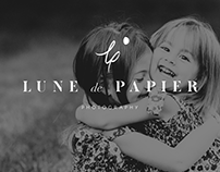 Lune de Papier Photography Brand Identity