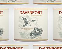 Davenport Wine Label