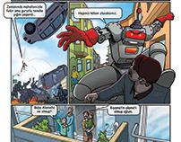 çizgi roman sayfası (comicbook page)