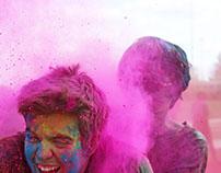 Holi Festival - Ferris State 2015