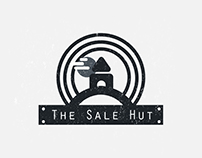 The sale hut logo