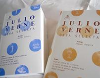Diseño e ilustraciones de portada —Julio Verne I y II